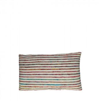 Coussin à motifs tressés 50 x 30 cm Tequilla