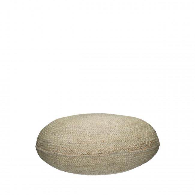 Pouf en jute ø80 cm Juno