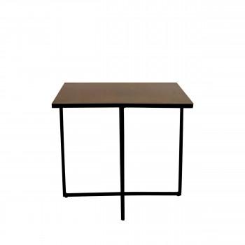 Table basse en métal 45 x 45 cm Finesse