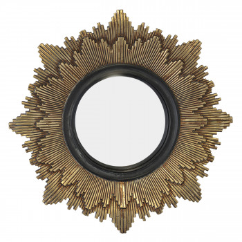 Léonie - Miroir soleil ø28 cm