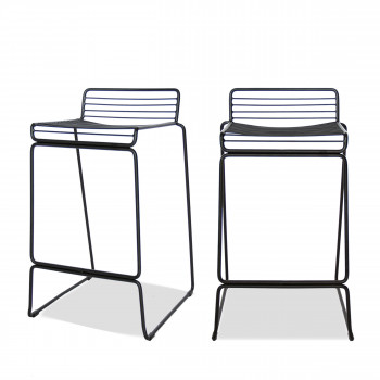 Meanook - 2 tabourets de bar 65cm