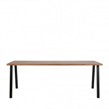 James - Table à manger en bois 200x90 cm
