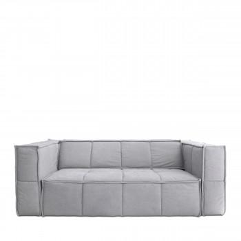 Canapé 3 places en toile Cube