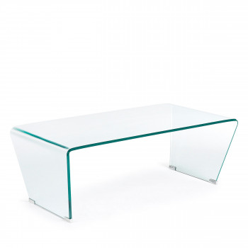 Burano - Table basse en verre 120x60 cm