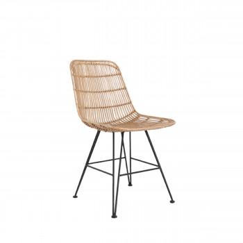 Puico - Chaise design en rotin