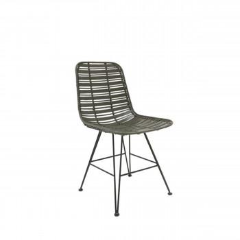 Sansare - Chaise design en rotin