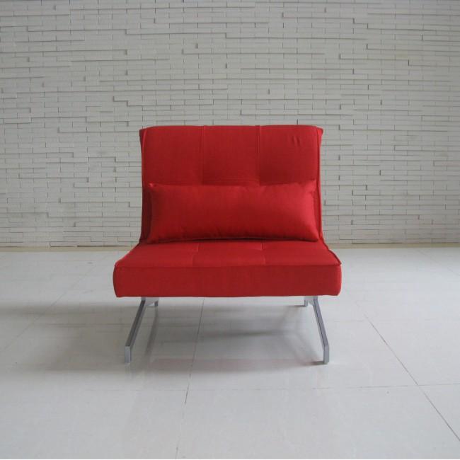 Fauteuil convertible BZ Marco 1 place rouge