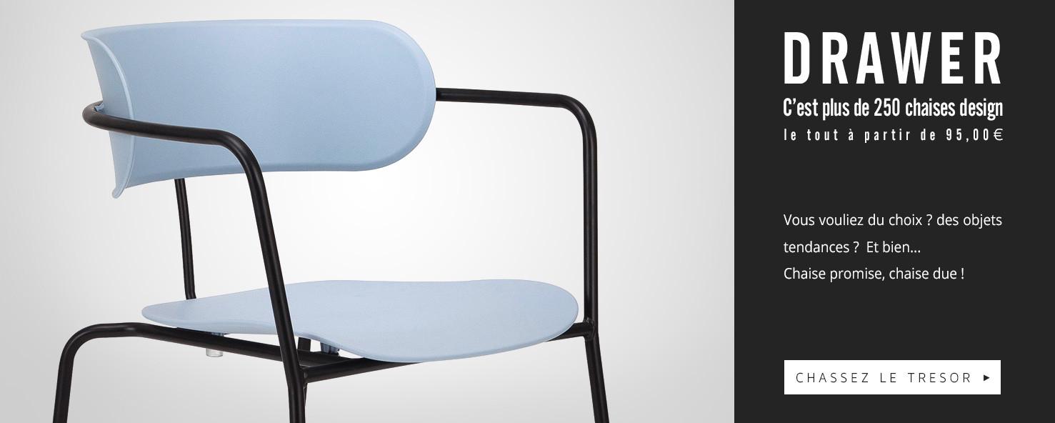 Découvrez plus de 250 chaises design !